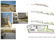 Landscape study in Keratea, Attica, Greece