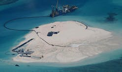 China is busy building islands in the South China Sea