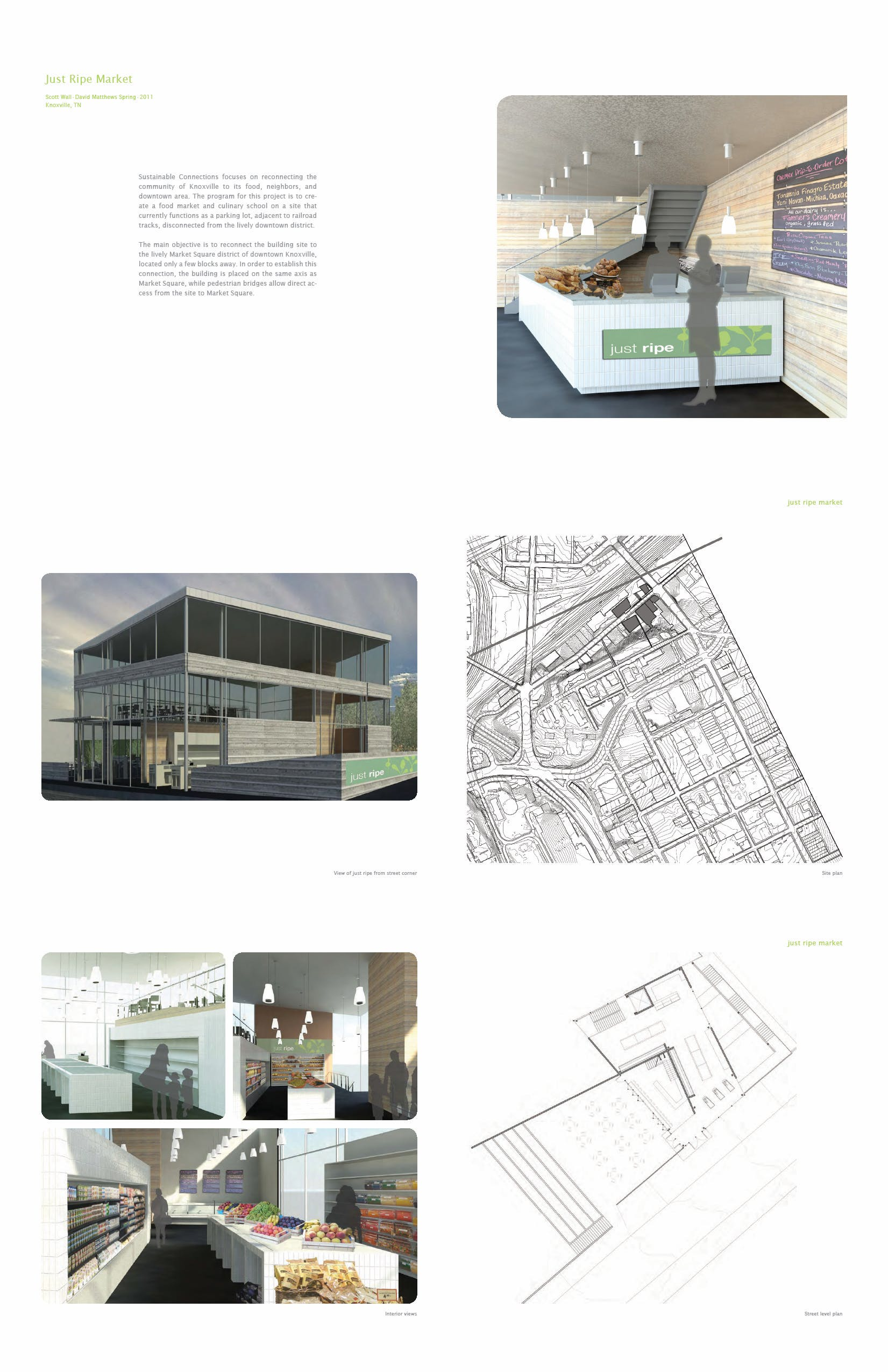 Work samples leslie may archinect for Interior design schools in knoxville tn