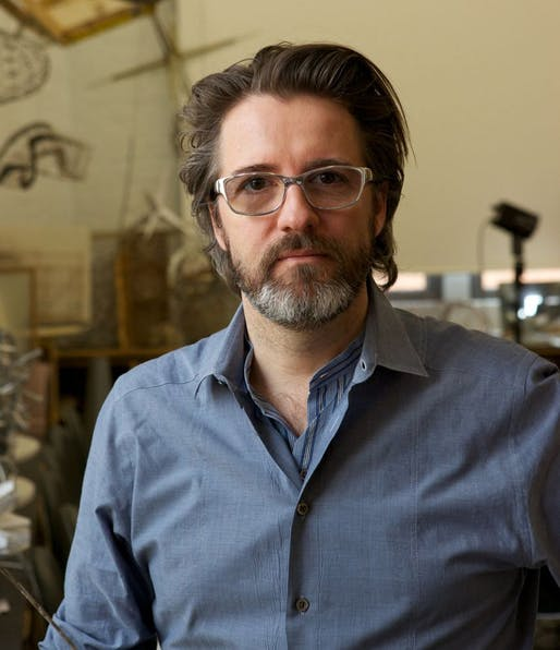 2014 recipient of the Eugene McDermott Award in the Arts at MIT: Olafur Eliasson. Image courtesy of MIT Council for the Arts.