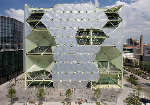 World Building of the Year Award 2011 and World Office Building of the Year Award: Media-ICT in Barcelona, Spain by Cloud 9, Spain (Photo: Enric Ruiz-Geli)