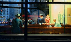 "Edward Hopper's ""Nighthawks"" as life-size installation at Flatiron Building"