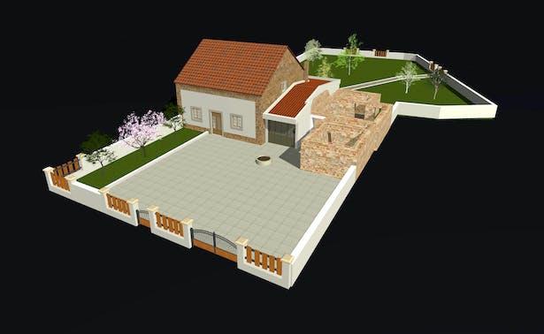 Exterior (Front Yard)