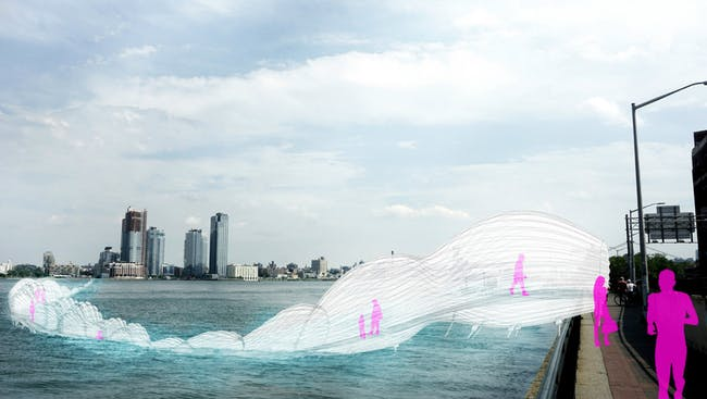 AECOM's 'Light Transporter' rendering. Image: AECOM.