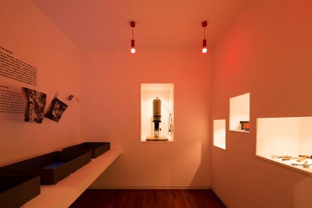 permanent exhibition area: room B