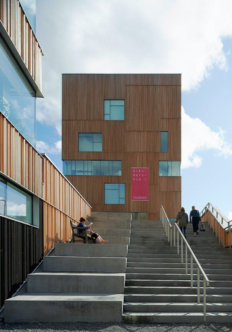 webbplats för rabatt bästa pris special för sko Henning Larsen Architects Completes Umeå Art Museum