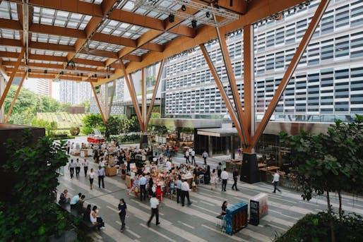 Urban Habitat - Single Site Scale: Tanjong Pagar Centre, Singapore. Photo © Studio Periphery.