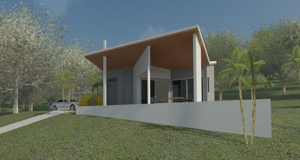 St. Thomas Ronch Rental Cottage Clifford O. Reid Architect