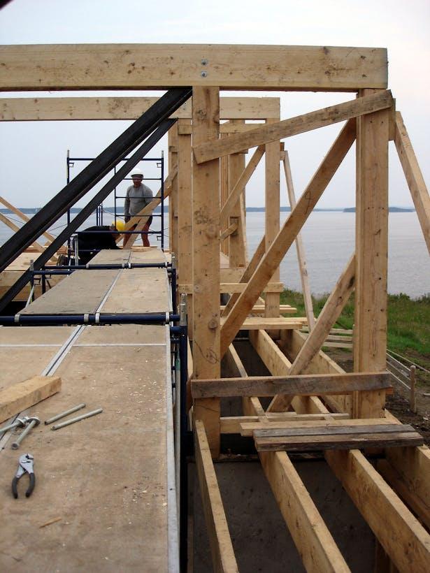 Composite Wood & Steel Frame 2