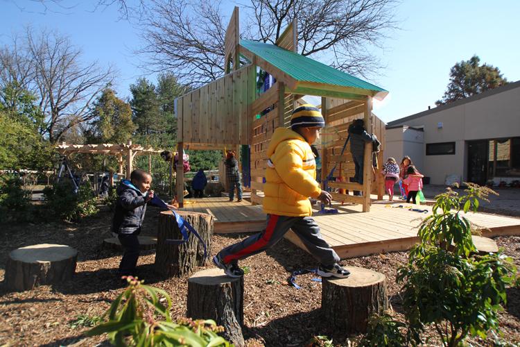 Abington Friends School Garden Station Metcalfe Architecture