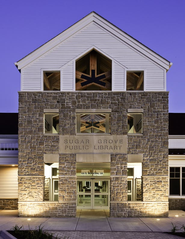 Sugar Grove Public Library, Cordogan Clark & Associates Architects