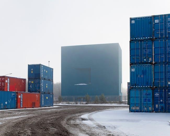 Exteriors: Power Transformation Station. Photo by Tim Van de Velde.