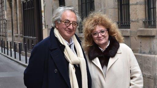 Marc Breitman and Nada Breitman-Jakov. Courtesy of the University of Notre Dame.
