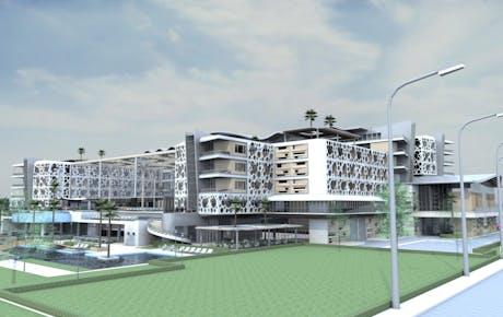 """• Preliminary design of the Health Tourism Center 'MEDSPA-CENTER"""" -Ulcinj"""
