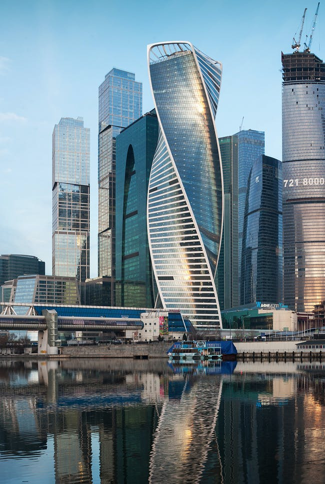 EUROPE Finalist - Evolution Tower. Photo © GOR PROJECT