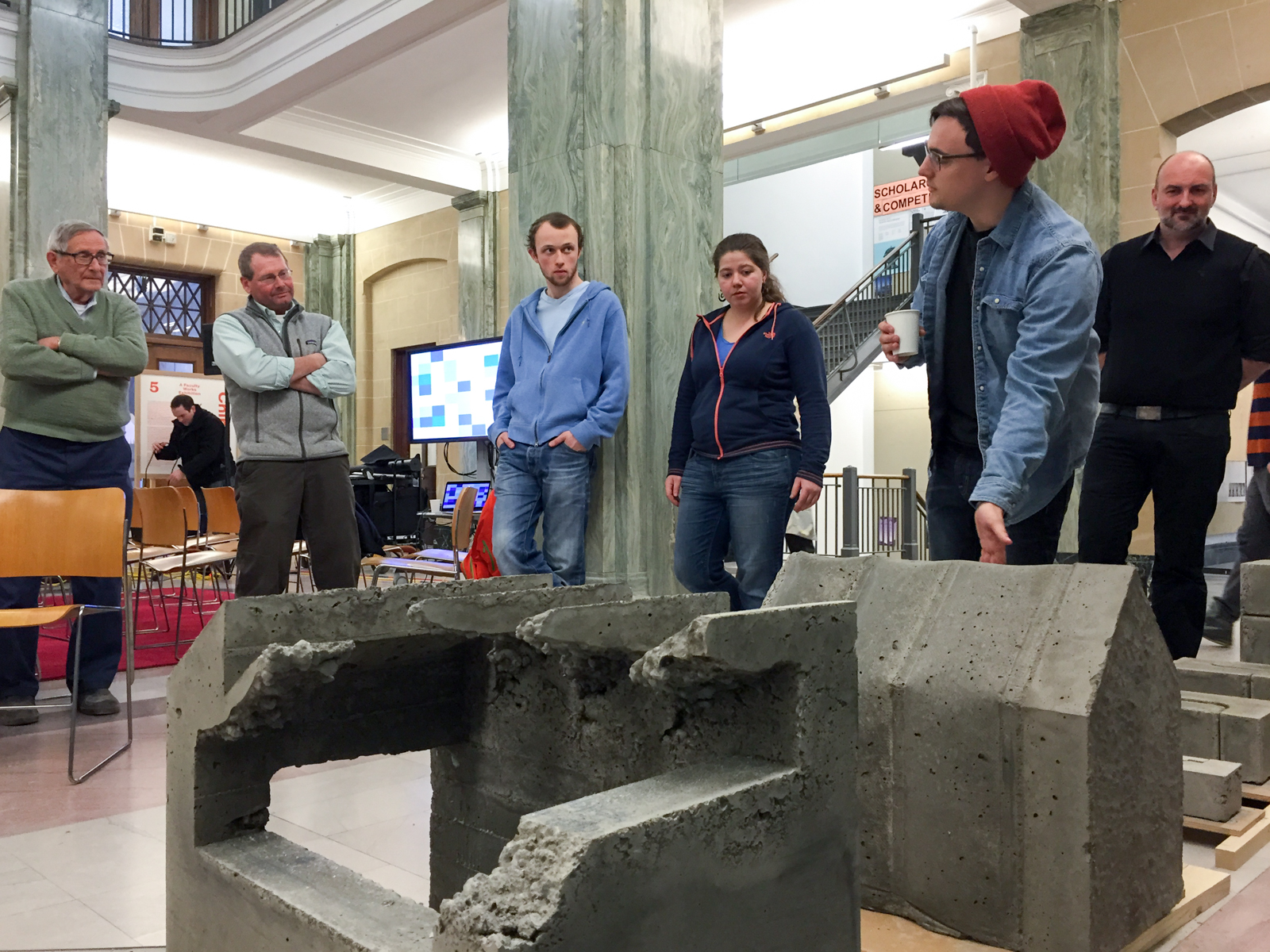 Deans list michael speaks of syracuse architecture features