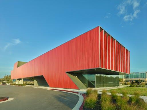 Harvey Pediatric Clinic; Rogers, Arkansas by Marlon Blackwell Architects. Photo: Timothy Hursley