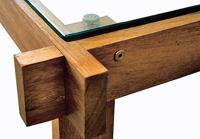 Two Tables (mahogany) by Douglas Harding