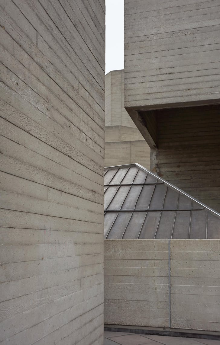 Personal Series Beautiful Brutalism - National Theatre, London by Denys Lasdun