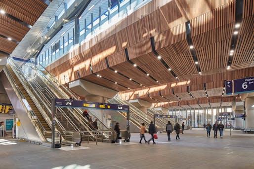 London Bridge Station (Architect: Grimshaw). Photo © Paul Raftery.