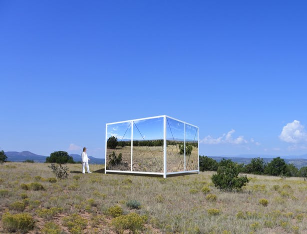 The Folding Landscape Pavilion.