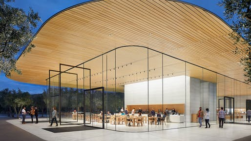 Apple Park Visitors Center, Photo courtesy Apple