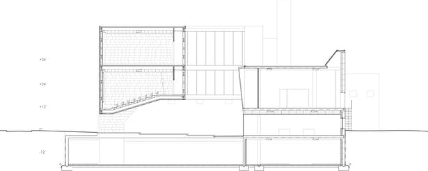 Section Drawing of the gap.