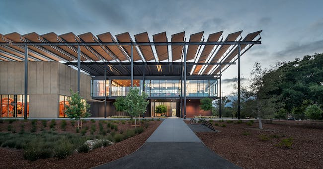 Environmental Leadership Award - ZGF Architects: Stanford University Central Energy Facility, Palo Alto, U.S. Photo credit: Azure