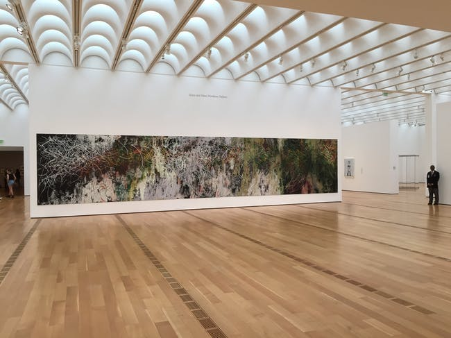 Inside the High Museum. Photo by Paul Petrunia.