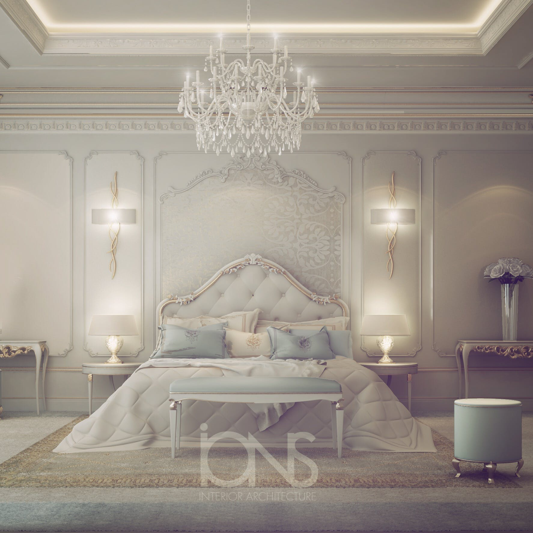 Fresh And Dreamy Bedroom Design