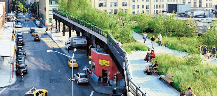 The High Line. Image: centerforactivedesign.com.