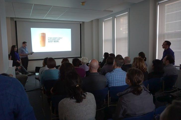 Talk 20 Event. Photo courtesy of Bohlin Cywinski Jackson.
