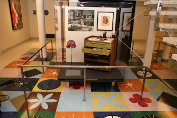 Marie Blair Inspired Floor and Stair Detail