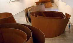 Richard Serra is the first artist to receive the President's Medal from the Architectural League of New York