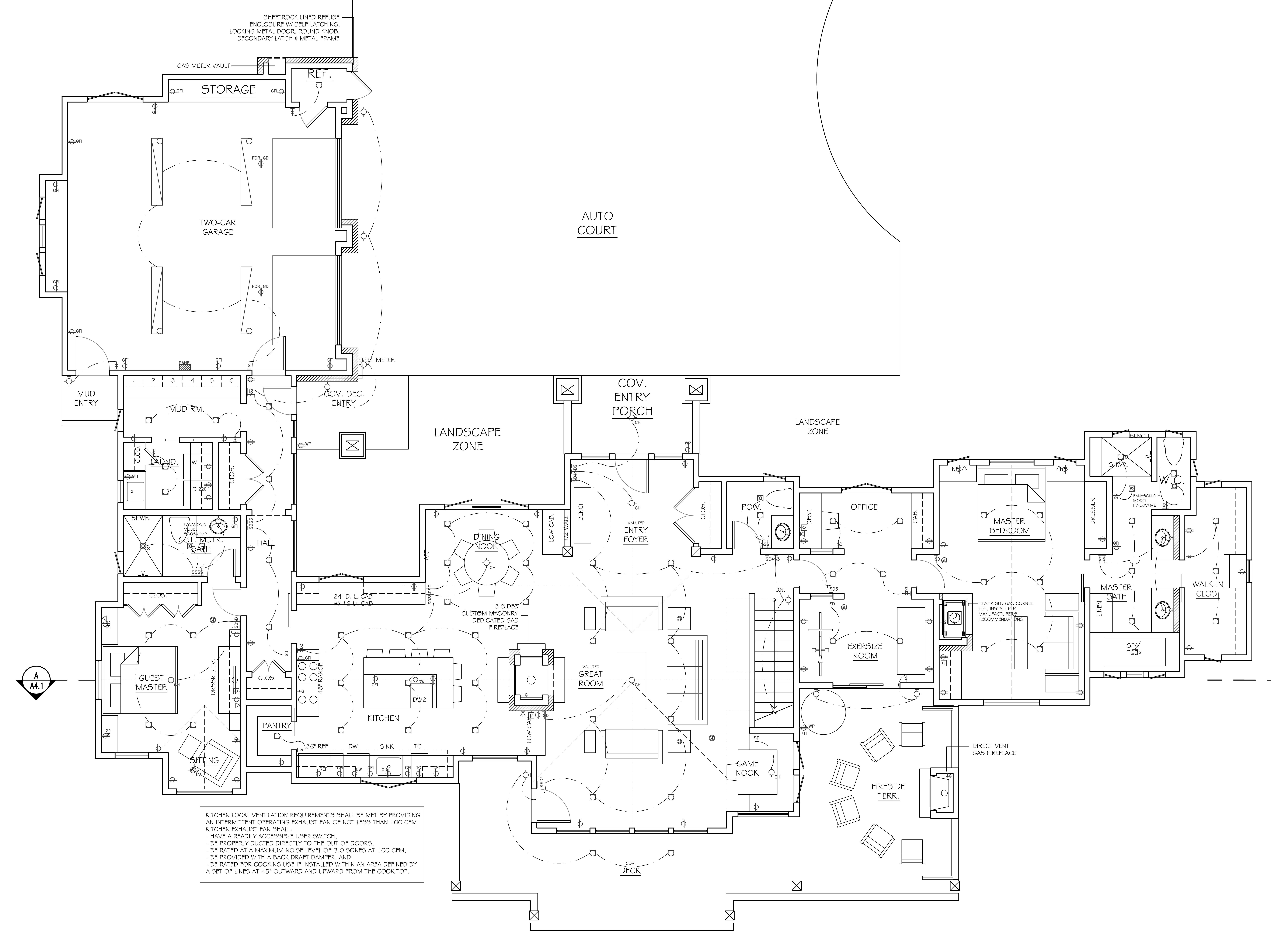 Residential electrical plan dolgular for Residential electrical blueprints