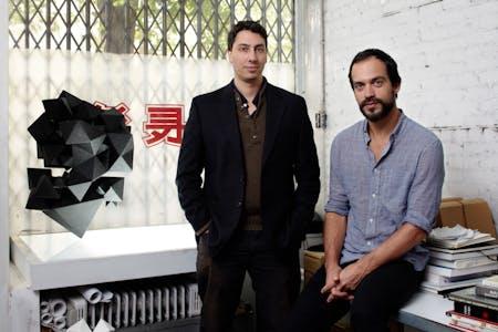 Chris Lasch (right) and Benjamin Aranda. Credit Noah Sheldon.