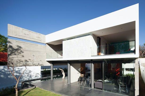 Rinconada House. Arq. Álvaro Morales and Arq. Miguel Echauri.
