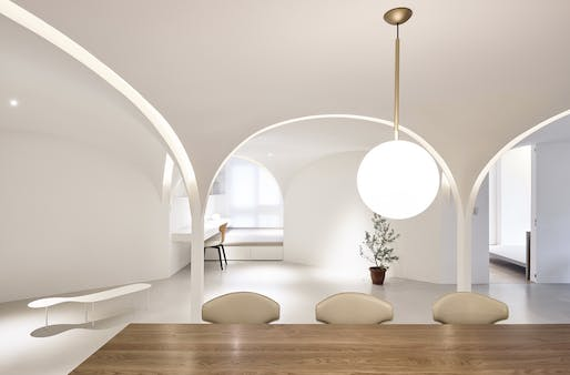 Residential Winner: Sunny Apartment by Very Studio and Che Wang Architects. Image credit: Studio Mill Space + Te-Fan Wang + Very Studio + Che Wang Architects.