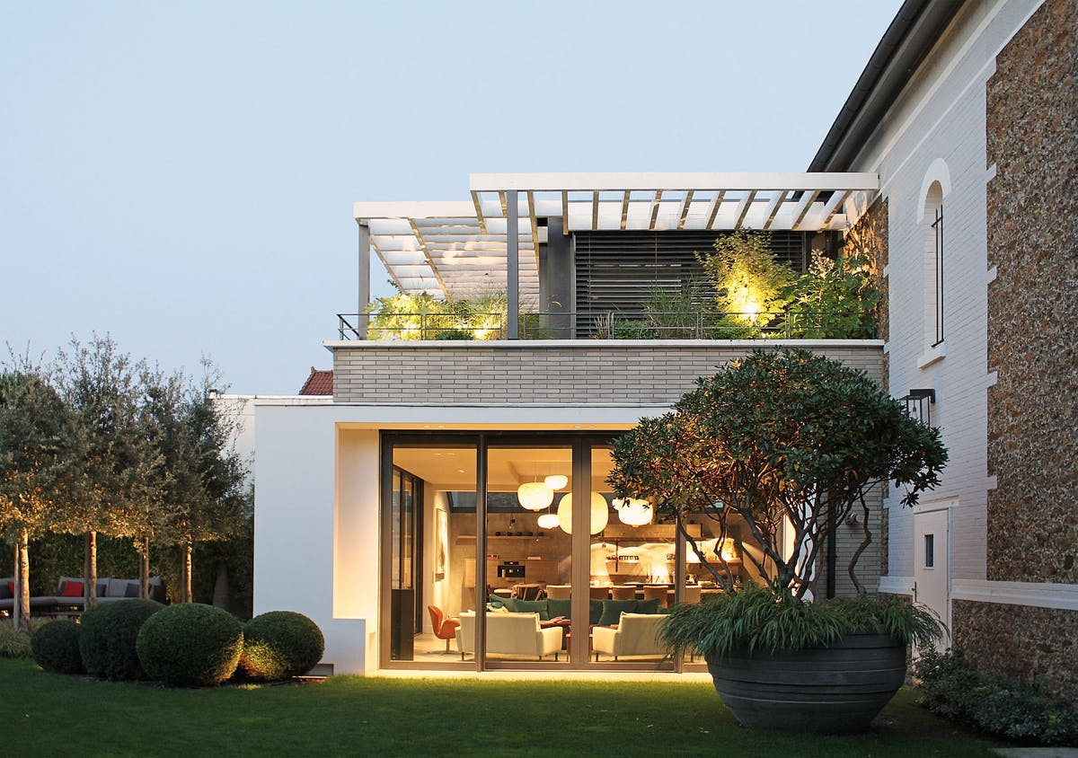 Modern extension of an old house near Paris | Atelier Dreyssé | Archinect
