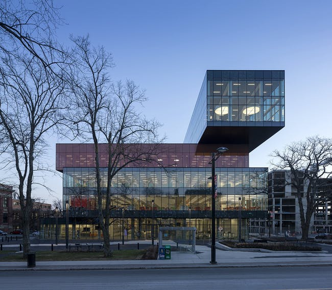 Halifax Central Library in Halifax, Canada by schmidt hammer lassen architects; Photo: Adam Mørk