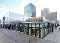 'Cœur de ville' - Commercial center comprising a cinema and kindergarten