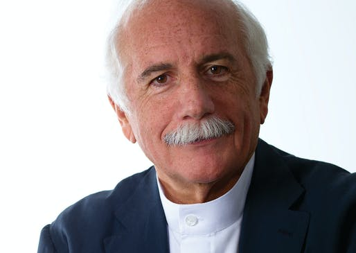 Moshe Safdie. Portrait by Stephen Kelly.