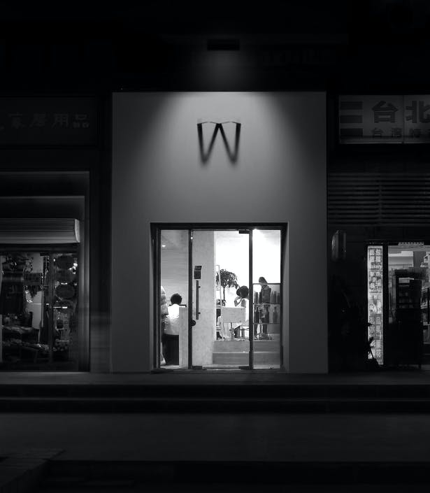 AQSO arquitectos office. W salon. Signage