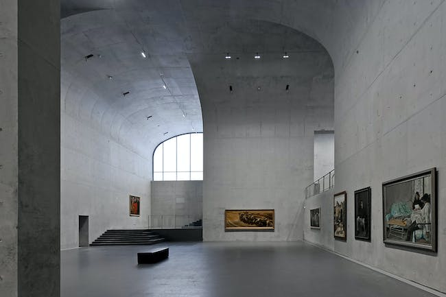 LONG MUSEUM WEST BUND - Shanghai, China. Designed by Atelier Deshaus. Photo courtesy of Designs of the Year 2015.