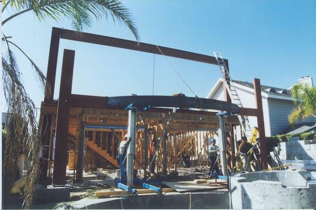 Rear Elevation - Under Construction