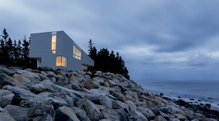 de Vries House, Liverpool, Nova Scotia, 2013-2016 / Photograph: William Green