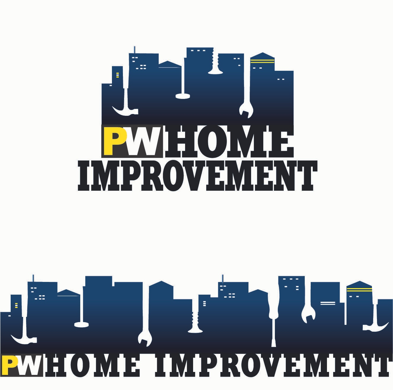 Nice Final Home Improvements Logo Design