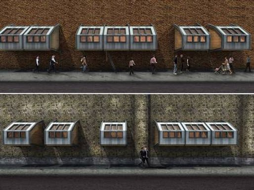 James Furzer's proposed homeless shelter.