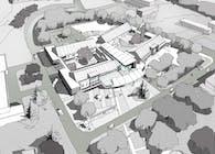 Healthcare Center EHPAD Competition. Architect: Monique Barge Paris