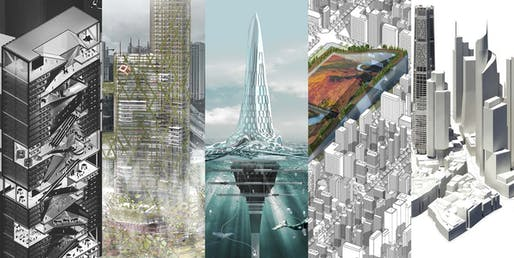 Finalists of the 2017 CTBUH Student Tall Building Design Competition.